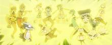 EP985 Rayo de Pikachu de Ash