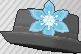 Pin metálico azul claro