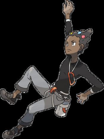 <i>Ilustración de Lino en Pokémon X/Y</i>