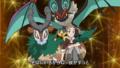 OPJ16 Alexia junto a sus Pokémon