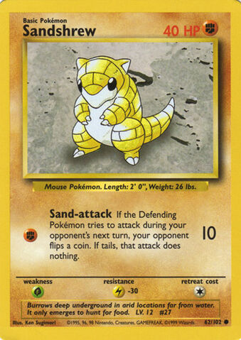 Archivo:Sandshrew (Base Set TCG).jpg