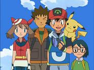 EP427 Ash, Aura, Brock y Max
