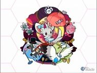 Imagen de los Musicales más otro Pokémon