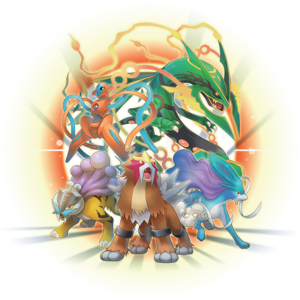 Pokémon legendarios PMMM