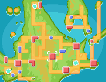 Ciudad Corazón mapa