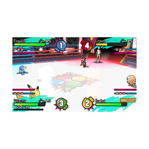 Battle Royale entre cuatro jugadores.