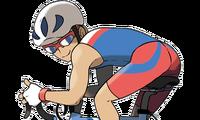 VS Triatleta ciclista ROZA