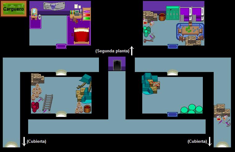 Plano de Carguero (tercera planta)