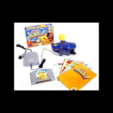 El kit para jugar a Hey You, Pikachu!