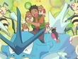 EP172 Brock imaginándose junto a sus Pokémon deseados