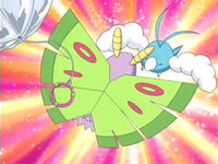 EP356 Dustox vs Swablu