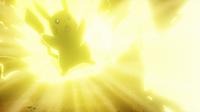 EP965 Pikachu usando rayo