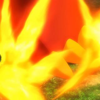 ...explotan violentamente dañando al Pokémon.