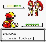 Combate contra el Team Rocket en Pokémon Amarillo