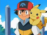 EP529 Ash y Pikachu
