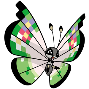 Vivillon fantasía (dream world)