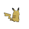 Pikachu espalda G6 hembra