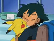 EP277 Ash y Pikachu