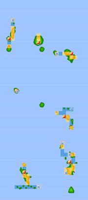 Islas Sete mapa juegos