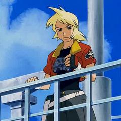 Jack Walker en un barco vigilando.
