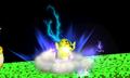 Pikachu usando electrochoque SSB4 3DS