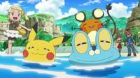 EP826 Pokémon relajados