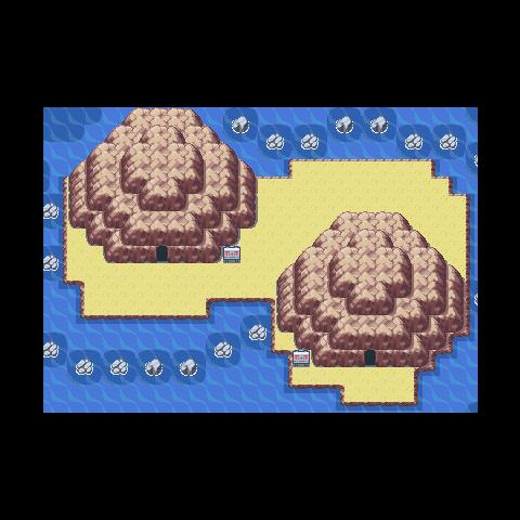 Islas Espuma en Pokémon Rojo Fuego y Verde Hoja.