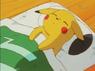 EP005 Pikachu descansando