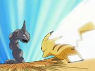 EP485 Pikachu VS Onix