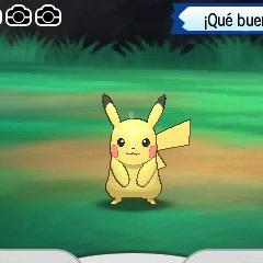 Fotografía de un Pikachu.