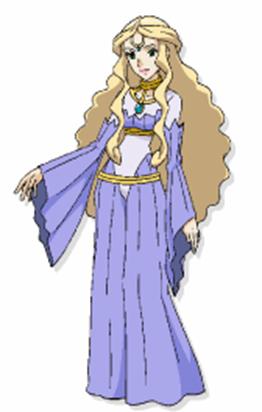 """Ilustración de la Reina Rin en la <a href=""""/wiki/P08"""" title=""""P08"""">P08</a>"""