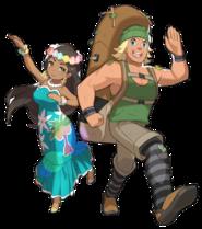 Bailarina y Montañero SL