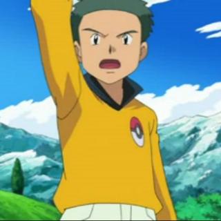 Árbitro Pokémon del primer combate completo de Ash y Paul/Polo (en estos casos, suele ser opcional).