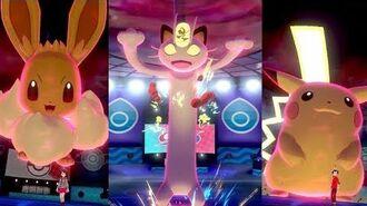¡Los POKÉMON GIGAMAX llegan a Pokémon Espada y Pokémon Escudo!