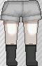 Calcetines negro