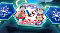 EP930 Pantalla del combate de Ash y Sabino (1)