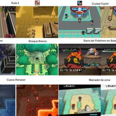 Algunas diferencias de Pokémon Negro 2 y Pokémon Blanco 2.
