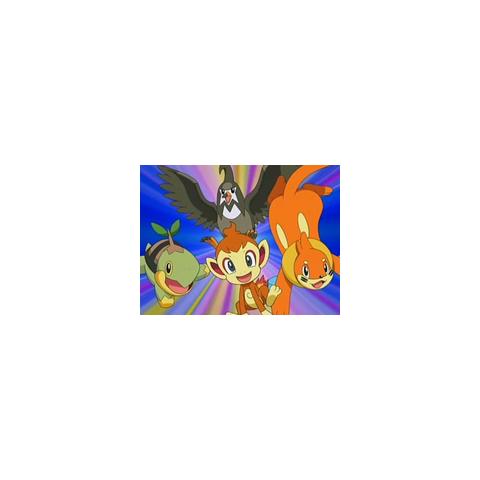 Secuencia de los Pokémon de Ash en este episodio.