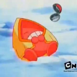Ash capturando a Snorunt.