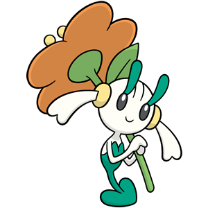 Floette naranja (dream world)