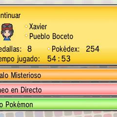 Para recibir regalos del Banco de Pokémon hay que darle a la opción de Nexo Pokémon...