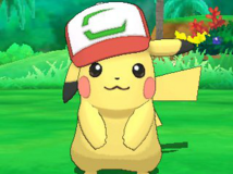 Pikachu con gorra P20 USUL