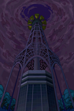 Torre Altru con sin el escudo