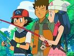 EP503 Ash, Brock y Maya pescando