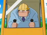 EP526 Ingeniero jefe en la excavadora