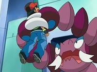 EP541 Drapion aferrando a Ash (3)