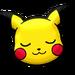 Pikachu dormido PLB