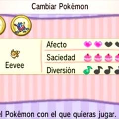 Características de un Pokémon en el <a href=