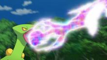 EP909 Sceptile usando pulso dragón