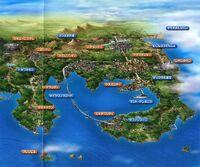 Mapa de Kanto en el anime